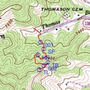 GPS Maping in Western North Carolina
